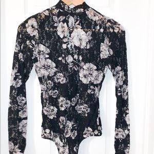 Guess Long Sleeve Bodysuit